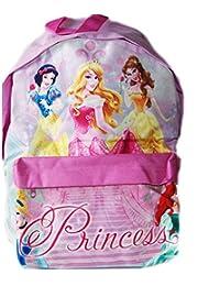 d543b1102e TrAdE Shop Traesio - Zaino Americano Principesse Disney Colore Rosa Bambine  Asilo Tempo Libero Scuola