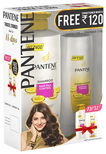 Pantene-Hair-Fall-Control-Shampoo-675ml-with-Hair-Fall-Control-Conditioner-175ml