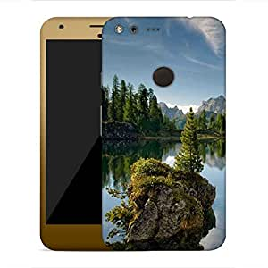 Snoogg Trees And River Designer Protective Phone Back Case Cover For Google Pixel XL