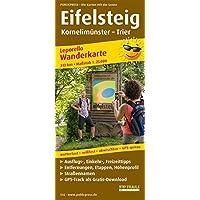 Eifelsteig, Kornelimünster - Trier: Leporello Wanderkarte mit Ausflugszielen, Einkehr- & Freizeittipps, wetterfest…