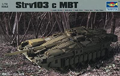 Trumpeter 07220 Modellbausatz Strv103c MBZ von Trumpeter
