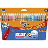 BIC Kids Kid Couluer - Pack de 24 rotuladores para colorear