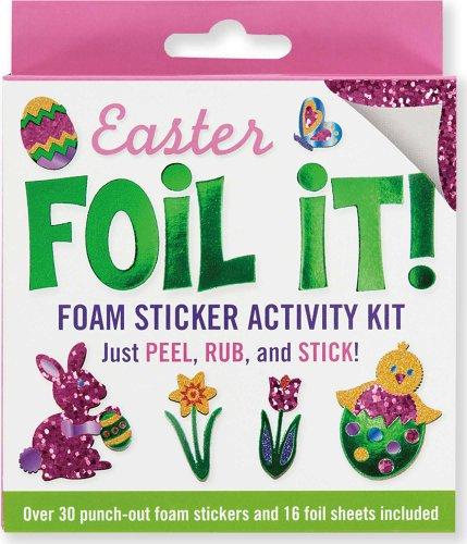 Easter Foil It! Foam Sticker Activity Kit -