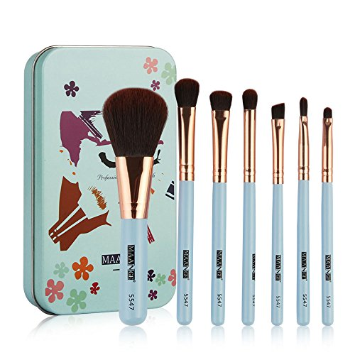Make Up Pinsel Rouge Lidschatten Set Kit Professionelle Make-Up Brush Für Stiftung Augenbraue...