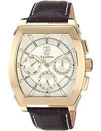 S.Coifman SC0407 - Reloj de pulsera hombre, color Marrón
