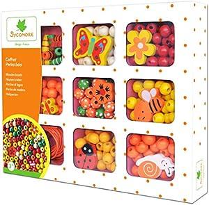 Darpeje Caja Madera NaranjaNuevo de Cuentas-Sycomore Faujas (CRE33131), (1)