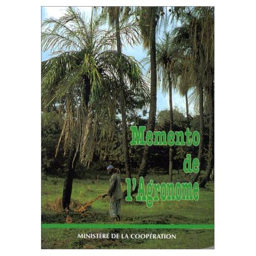 MEMENTO DE L'AGRONOME. 4ème édition