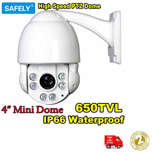 650TVL 10x optischer Zoom 1/7,6cm Sony Effio CCD 11,4cm Mini Outdoor IR Tag/Nacht Ansicht High Speed Dome PTZ Kamera Ccd-ptz-kamera