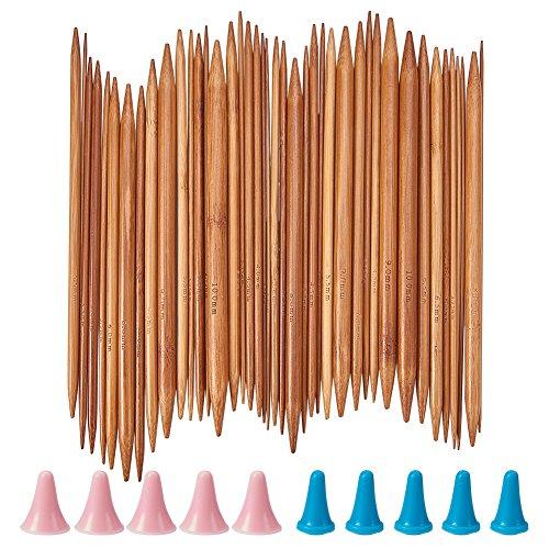 NBEADS Aguja de Tejer de Bambú