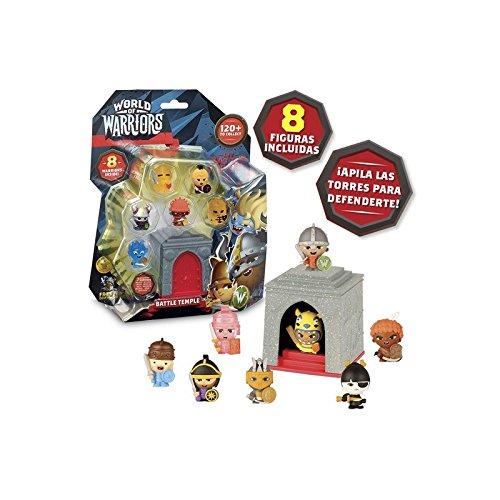 World Of Warriors Blister 8 Figurines + 1 Tour