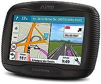 Garmin 010-01602-12 ZUMO 345LM 4.3 inch Motorbike Satellite Navigation with UK, Ireland and Western Europe Maps, Free Lifetime Map Updates and Bluetooth - Black