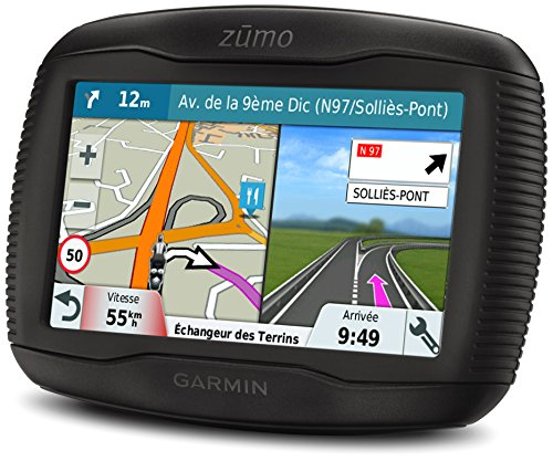 "Garmin Zumo 345LM WE Navigatore per Moto, Mappa Italia e Europa Occidentale, Display 4.3"", Nero"