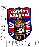 England Shield Flagge UK GB British London Cartoon Movie Patch Hand bestickt und Bügelbild Symbol Jacke T-Shirt patches aufnäher Zubehör