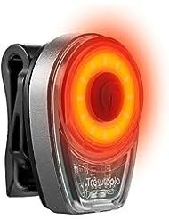 trèsu Topia Twinkler aufladbares Outdoor lumière LED, la marche, cyclisme, Course à pied Promenades dans l'obscurité, avec élastique Sangles de fixation et câble de charge USB