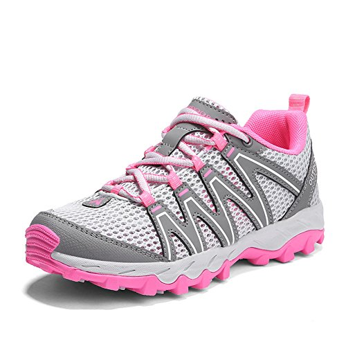 Scarpe da Trekking Donna Uomo Running Scarpe da Montagna All'aperto Mesh Respirabile Antiscivolo Sneakers