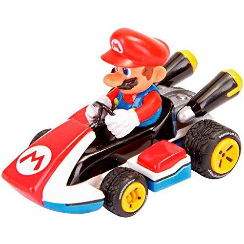 Mario Kart- Nintendo Figura Pull Speed Mario, (Carrera 9003150193159)