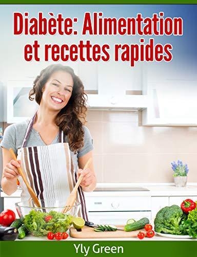 Couverture du livre Diabète: Alimentation et recettes rapides