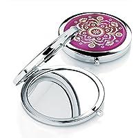 Ambra gioielli argento specchio da borsetta da donna–Scegli il tuo (Ambra Specchio)