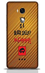 Who is a Black Sleep Mehh - Mobile Back Case Cover For Huawei Honor 5x