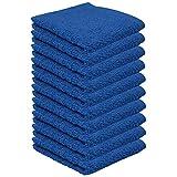 10er Pack – Seiftücher Set – 10 Seiftücher 30×30 cm – Farbe Royalblau - 2