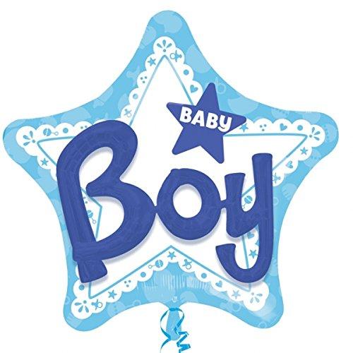 amscan 309220153x 99,1cm Baby Boy Folienballons