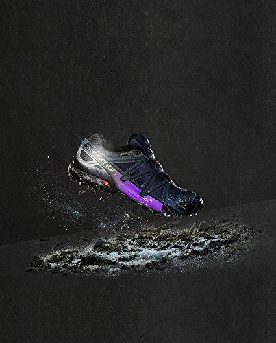 W Navy DEscalade Chaussures 4 Nocturne Femme Speedcross GTX blue Salomon gwCqP7C