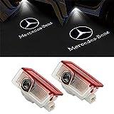 LIKECAR LED Portello Auto Llluminazione Proiettore Porta Lampada Ghost Shadow Luci Benvenute Cortesia (Benz E-2)
