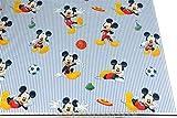Fußball aus 100% Baumwolle, hochwertiger Stoff, Disney