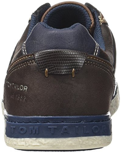 Tom Tailor 3781402, Baskets Basses Homme Marron (Rust)