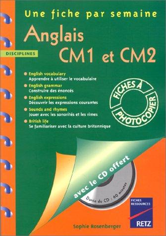 Anglais CM1 et CM2 (1CD audio) par Sophie Rosenberger