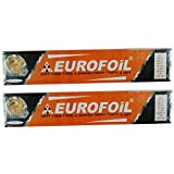 #10: EUROWRAP CLING FILM ORANGE COLOR 30 METERS USE FOR COLD ITEMS SALAD, FRUIT ETC.(PACK OF 2 )
