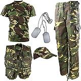 Kombat UK DPM kamouflage Explorer armékit, kamo, 9-10 år