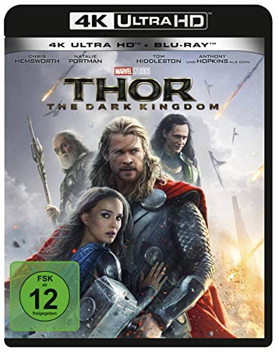 Thor - The Dark Kingdom  (4K Ultra HD)  (+ Blu-ray 2D)