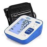 Blutdruckmessgerät, Messwert Herzfrequenz und Blutdruck, Blutdruckmessgerät Oberarm, Weitbereichsmanschette, Doppelbenutzermessungen (2*120 Lagerung) mit LCD-Anzeige - Lovia