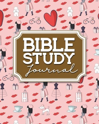 Bible Study Journal: Bible Journal For Boys, Bible Study Gifts For Women, Bible Notebooks And Journals, Bible Verse Journal Hardcover, Cute Paris Cover