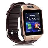 DXABLE Orologio intelligente Bluetooth - Orologi Sportivi Digitali WristWatch - Supporto Messaggio di Notifica del Messaggio TF Card Monitoraggio Sonno Pedometro per Android IOS Samsung Htc LG Sony Ericsson Huawei SmartPhone Blackberry