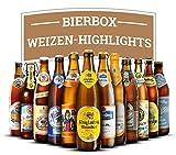Weizenbier Box: Deutsche Highlights - 12 feine Flaschen (je 0,5l MEHRWEG) Weissbier Rund Reise durch die Republik ideal als Geschenk