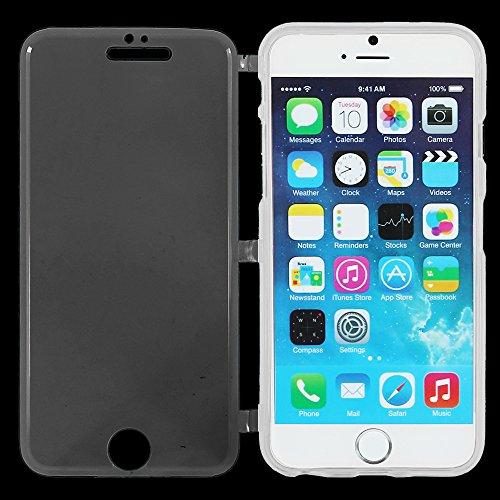 """ebestStar - pour Apple iPhone 6S 6 Plus écran 5,5"""" - Housse Etui Coque Silicone Gel Portefeuille, Couleur Violet [Dimensions PRECISES de votre appareil : 158.1 x 77.8 x 7.1 mm, écran 5.5''] Transparent"""