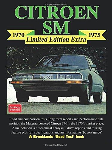 Citroen SM 1970-1975 Limited Edition Extra (Brooklands Road Test Limited Edition Extra S.)
