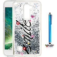 A9H Funda Transparente Dynamic Liquid Glitter Color Paillette Sand Quicksand arena movediza Star Back Cover Case para LG G4 Stylus2 LS775 shell -07HUA