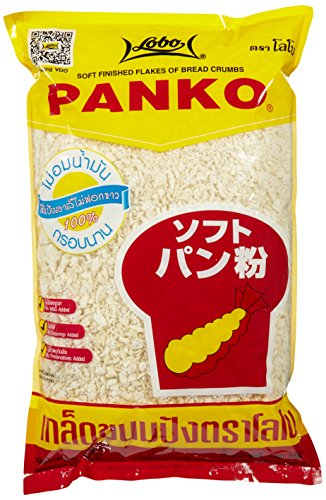Lobo Bread Crumbs Panko Japanese - Paquete de 6 x 1000 gr - Total: 600