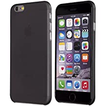 "totallee Ultra Thin Light versión slim Minimal – Más Fino Funda para Apple iPhone 6 (4.7 ""), compatible con iPhone 6 iPhone 6S, color Negro"