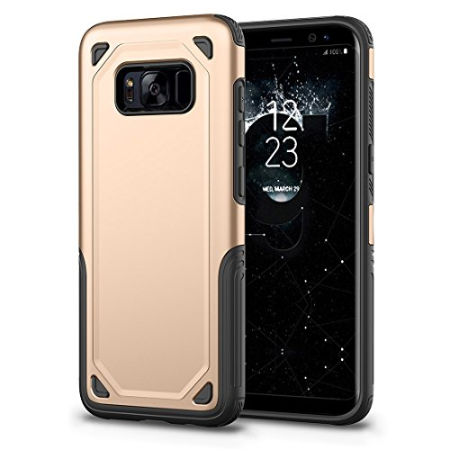 HHF Cases & Covers Für Samsung Galaxy S8 Stoßfest Robuste Rüstung Schutzhülle (Color : Gold) - Speck Products-holster