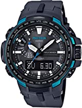 CASIO watches PROTREK Triple Sensor Ver.3 equipped with the world six stations corresponding Solar radio PRW-6100Y-1AJF
