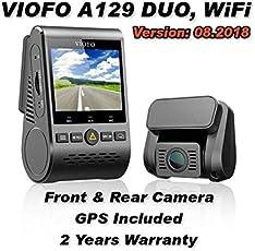 viofo A129 Duo - Dual Channel, GPS, WLAN, Dash Kamera, Sony starvis (+64GB)