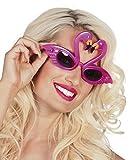 Faschingsfete Schäne, Brille, neon, Kostüm, Sonnenbrille, Pink