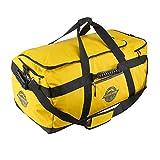 Aquabourne - Tasman XL Duffel Bag wasserdichter Rucksack 100 Liter 72 x 43 x 33 cm perfekte Sporttasche mit praktischem Schuhfach Packgurten und wasserfesten Reißverschlüssen