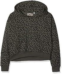 Das lässige Sweatshirt von Sanetta lädt durch die komfortable Passform zum Träumen ein und lässt sich durch das coole Leo-Muster auch in stylishe Homewear-Looks integrieren.  - lässige Passform - Kapuze - Langarm - Rippstrickbündchen - Kängurutasche ...