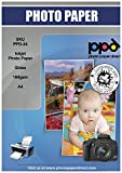 PPD Ppd-24–50Jet d'encre brillant Séchage instantané Papier photo A4180g/m² X 50feuilles