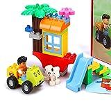 Partículas grandes, bloques de construcción, juguetes educativos para niños, juguetes creativos, 203